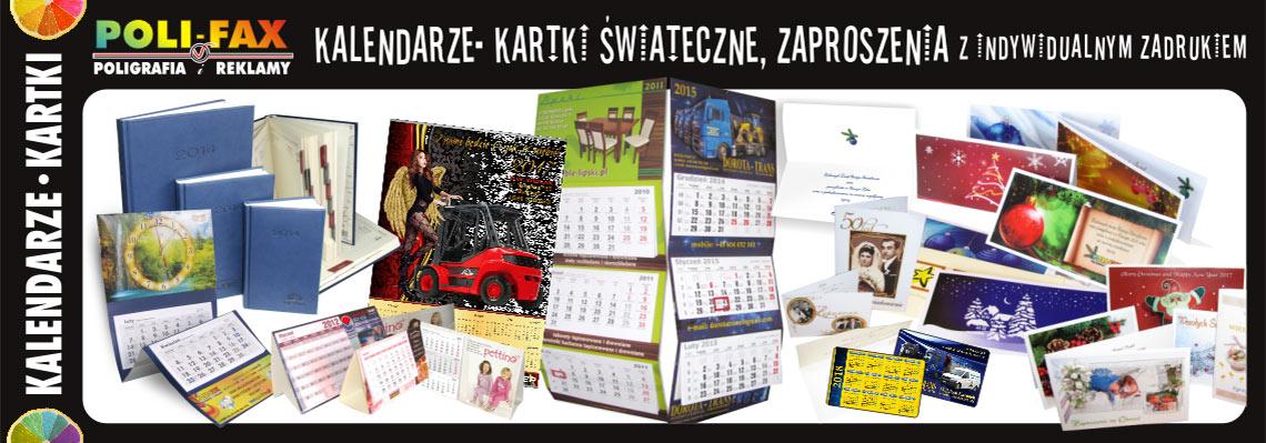 Kalendarze, kartki